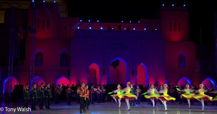 Royal Opera House, Muscat, Oman by Tony Walsh