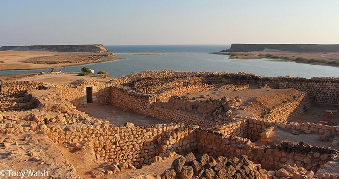 Samharam port, Taqah, Oman © Tony Walsh