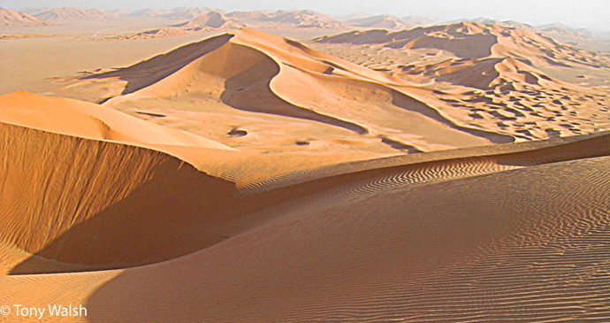 Wihibah Sands Oman, best deserts, by Tony Walsh