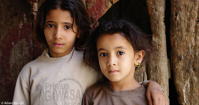 Local children Sana'a, Yemen by Adam Balogh