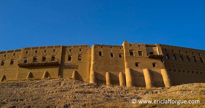Citadel Erbil Kurdistan Iraq by Eric Lafforgue