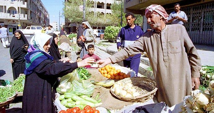Market Baghdad Iraq by Northfoto, Shutterstock