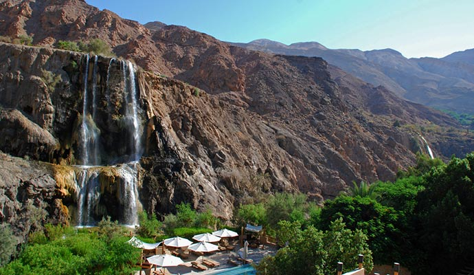 Ma'in hot springs Jordan by Rob, Flickr