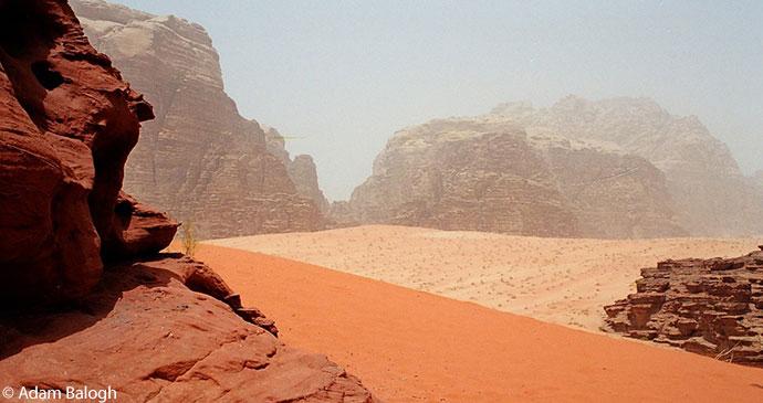 Wadi Rum Jordan by Adam Balogh