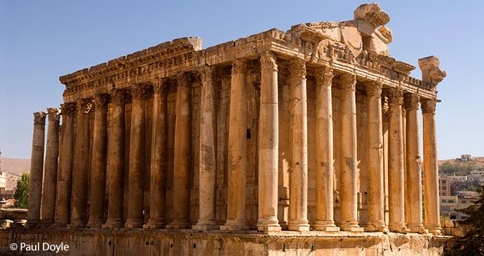 Temple of Bacchus, Bekaa Valley, Lebanon © Paul Doyle