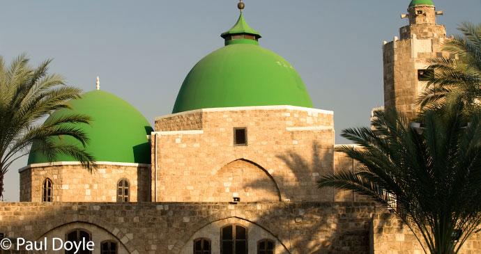 Mosque in Tripoli, Lebanon © Paul Doyle