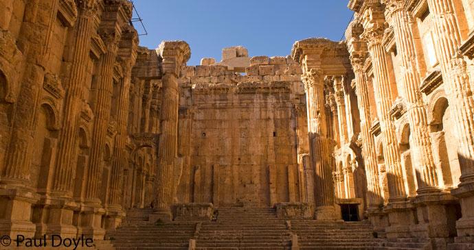 Baalbek Roman city Lebanon by Paul Doyle