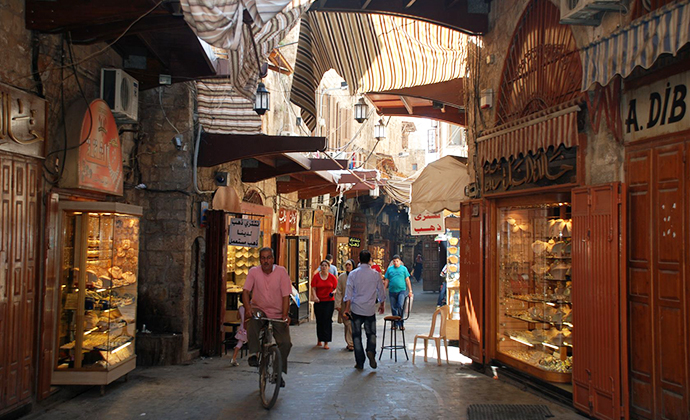 Tripoli souks Lebanon by Bertramz Wikimedia Commons best markets in the world