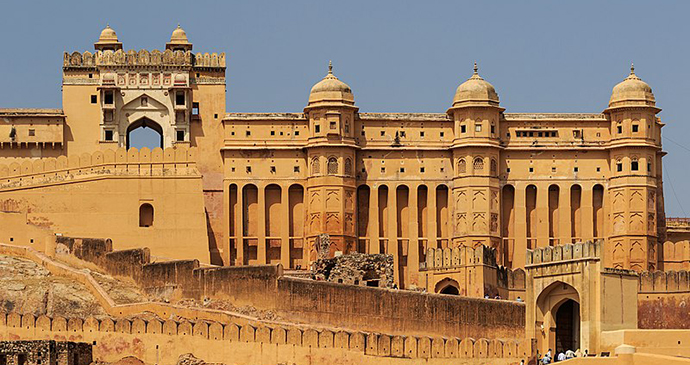 Amber Fort, Jaipur, Rajasthan, A Cheetah's Tale by A.Savin, Wikimedia Commons