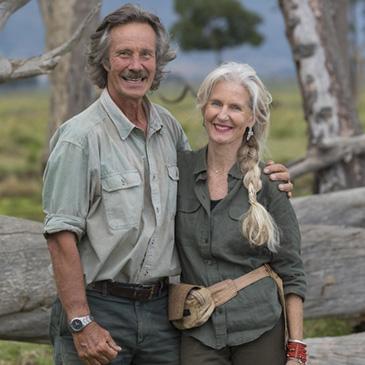 Jonathan and Angela Scott by Jonathan Scott