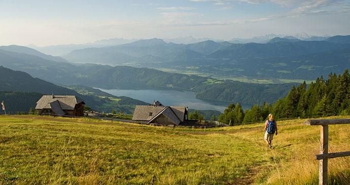 Alexander Hut, Millstaetter Alpe, Austria © Franz Gerdl