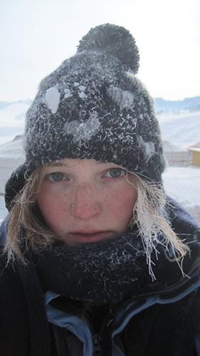 Frozen hair, Mongolia © Suzy Pope