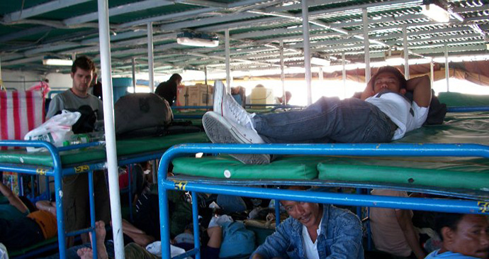 On the ferry, Philippines © Hannah Stuart-Leach