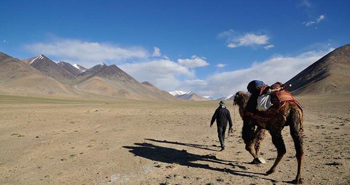 Pamir mountains, Tajikistan © Shane Dallas