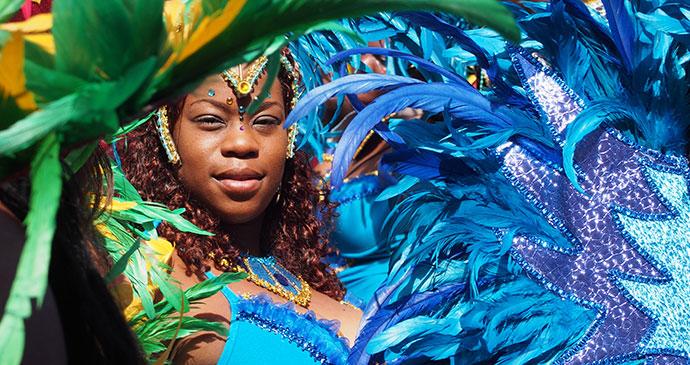 Carnival Roseau Dominica by Paul Crask