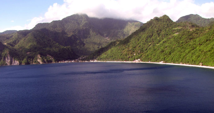 Marine Reserve Dominica by Paul Crask