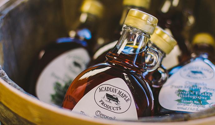 Maple syrup Nova Scotia Canada by Nova Scotia Tourism
