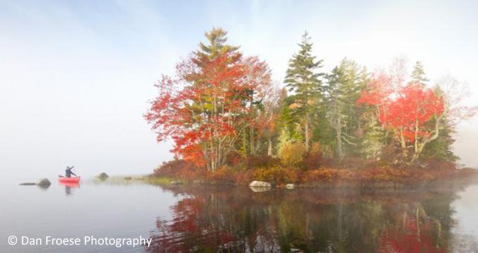 Boot Lake South Milford nr Kejimkujik National Park Nova Scotia Canada by Dan Froese Photography