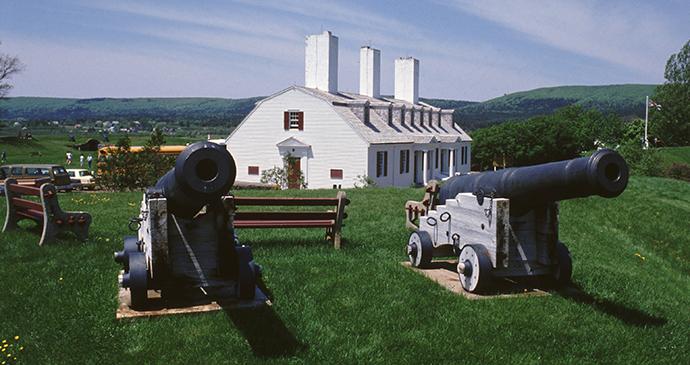 Fort Anne Nova Scotia Canada by Tourism Nova Scotia