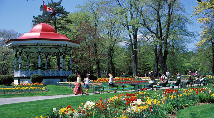 Halifax Public Gardens Nova Scotia Canada by Nova Scotia Tourism