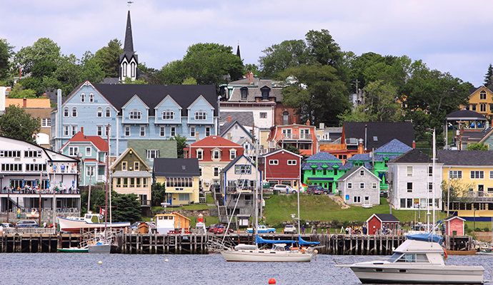 Lunenburg UNESCO World Heritage Site Nova Scotia Canada