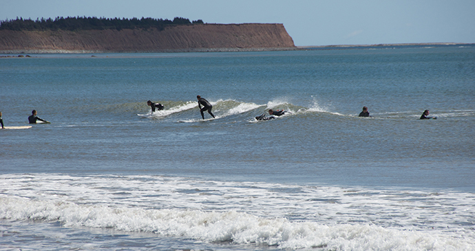 Surfing Eastern Shore Nova Scotia Canada by Tourism Nova Scotia