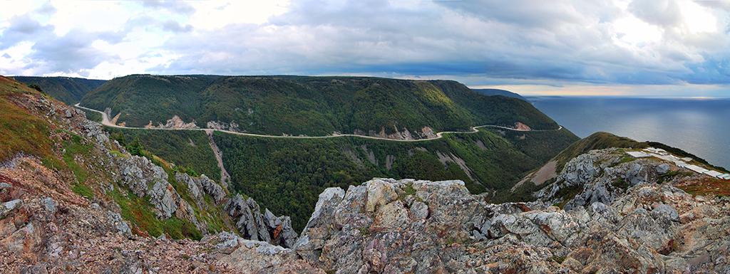 Cabot Trail Cape Breton Island Nova Scotia Canada by © chensiyuan, Wikipedia