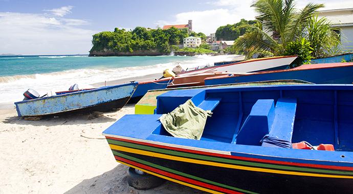 Sauteurs Bay Grenada by Richard Semik Shutterstock