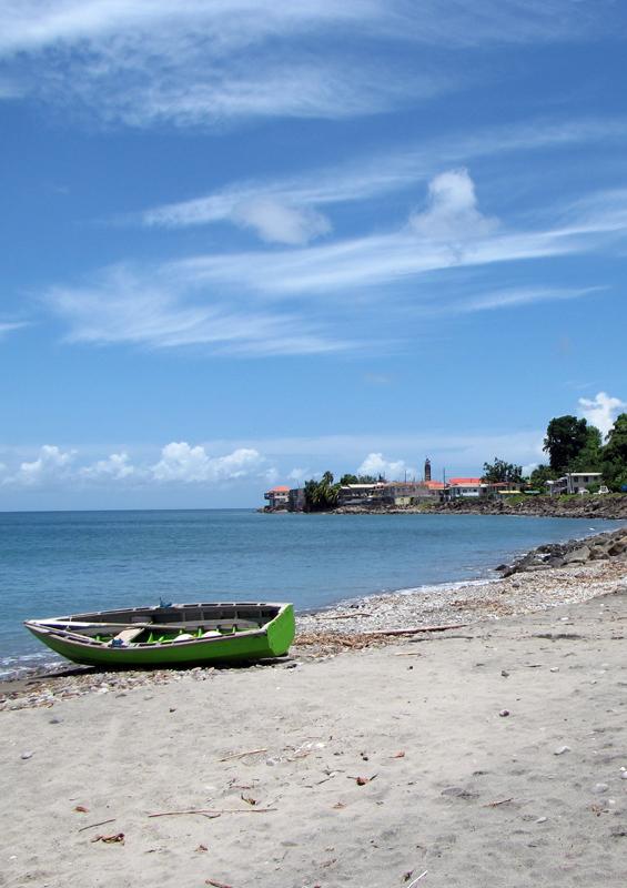 Gouyave beach, Grenada by Paul Crask