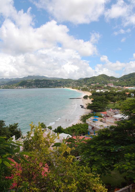 Grand Anse Beach, Grenada by Celia Sorhaindo