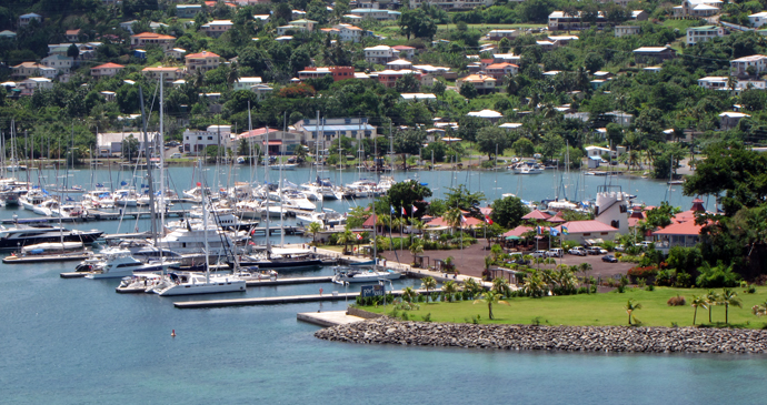Port Luis marina , Grenada by Paul Crask