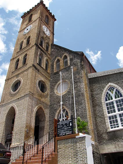 St George's Roman Catholic Cathedral, Grenada by Paul Crask