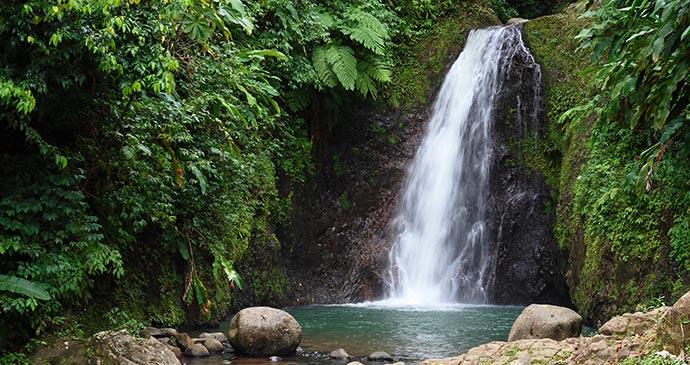 St Margaret's Falls, Grenada by Celia Sorhaindo