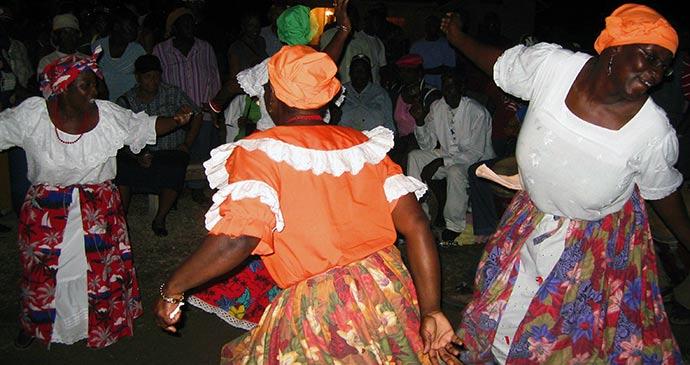 Village maroon Grenada by Paul Crask