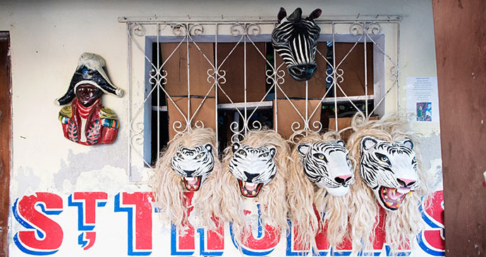 Carnival Masks by Experience Haiti
