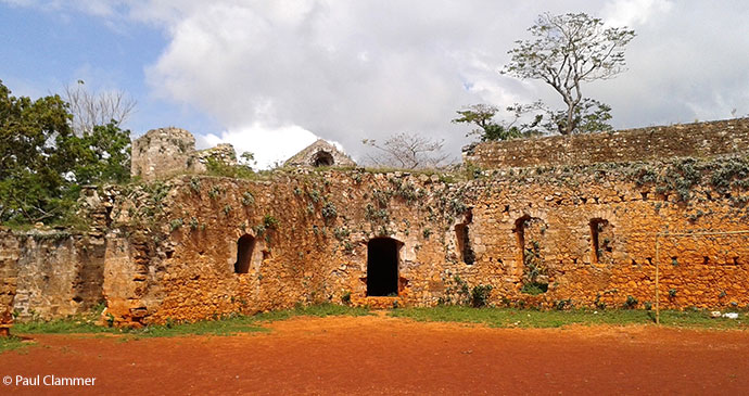 Fort Ogé, near Jacmel © Paul Clammer