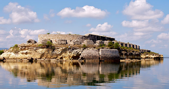 Fort Saint Joseph, also known as Fort Dauphin © Nick Hobgood (Wikimedia Commons)