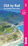 USA BY Rail the Bradt Guide by John Pitt