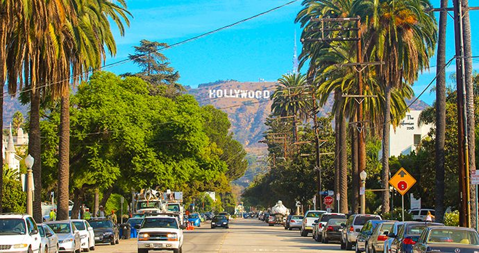 Hollywood sign Los Angeles USA California Shutterstock