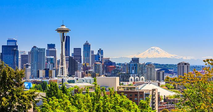 Seattle skyline Washington USA emperorcosun Shutterstock