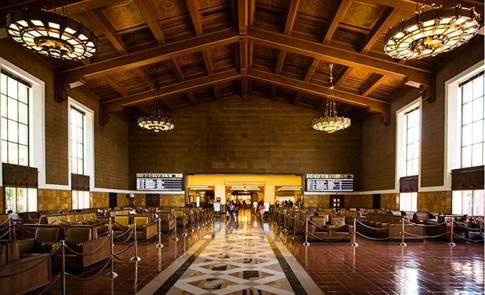 Union Station Los Angeles USA by FiledIMAGE, Shutterstock