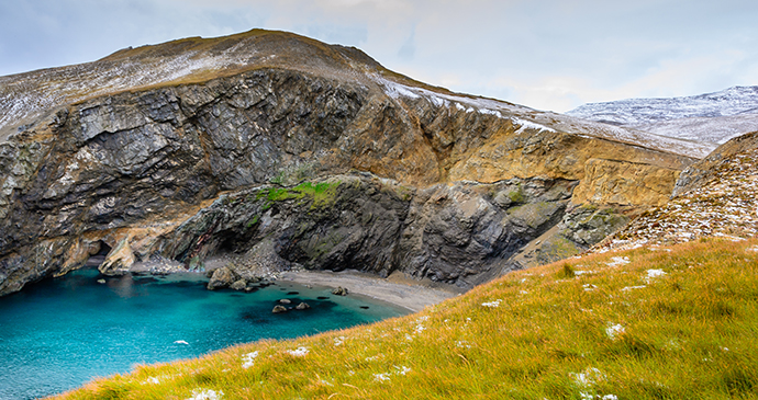 Bear Island Barents Sea Arctic by Tetyana Dotsenko, Shutterstock
