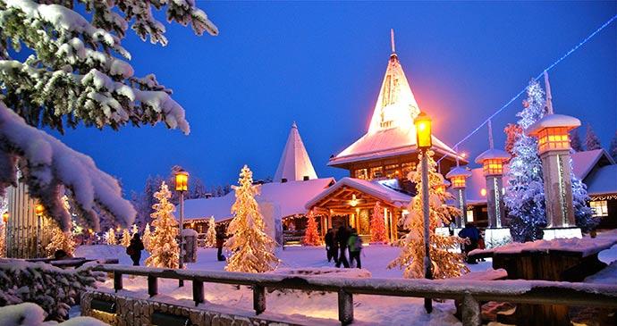 Santa Claus Village Rovaniemi Lapland by Tarja Mitrovic