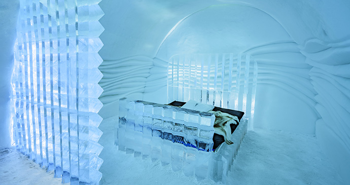 ICEHOTEL Sweden Lapland © Discover the World