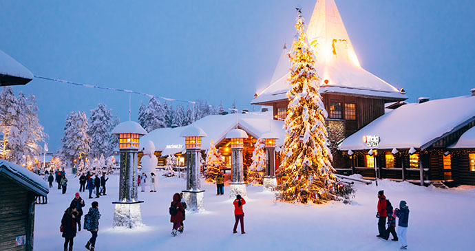 Santa Claus Village Finnish Lapland by Wim Claes Shutterstock