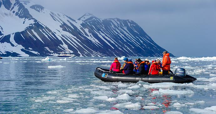 Hornsund, Svalbard by DonLand, Shutterstock