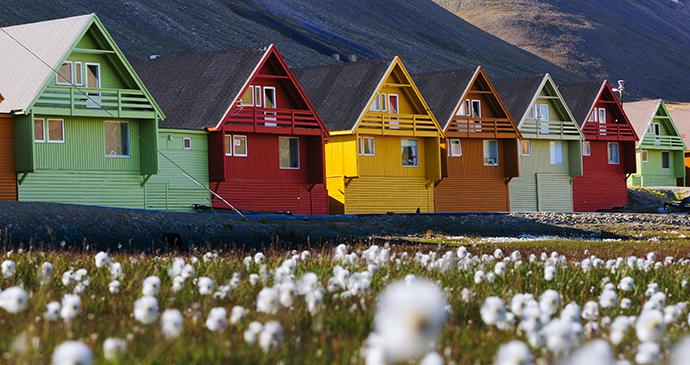 Longyearbyen, Svalbard by DonLand, Shutterstock