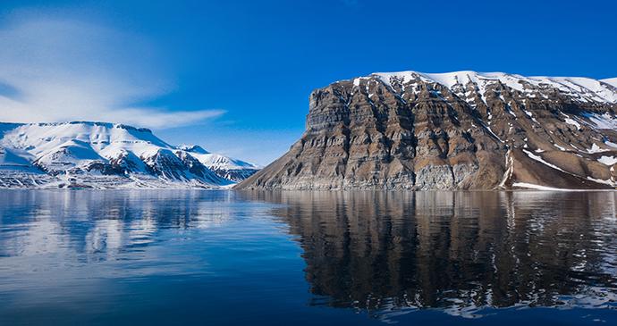 Arctic ocean, Longyearbyen, Svalbard by Ginger Polina Bublik, Shutterstock