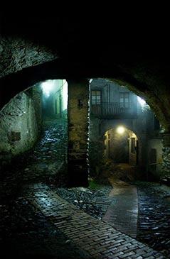 Alleyway Triora Liguria Ettone
