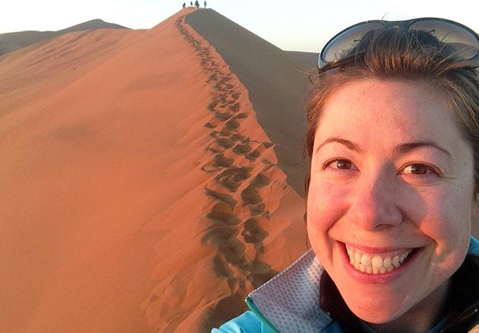 Emma Thomson Namibia Women in Travel